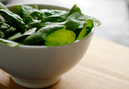 Are Your Leafy Greens Safe? Steam your greens to prevent kidney stones.