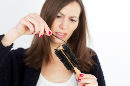 Losing your hair is embarrassing. But it can also indicate a bigger health risk. Here are five natural ways to help keep the hair you have.