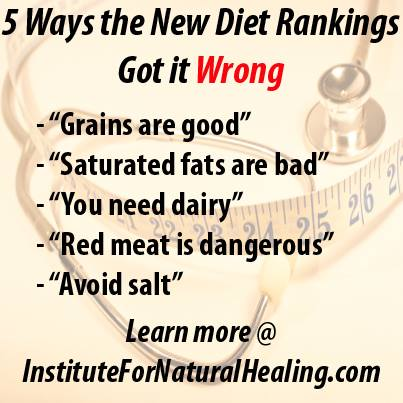 5 Ways the New Diet Rankings Got it Wrong