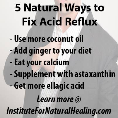 5 Natural Ways to fix acid reflux