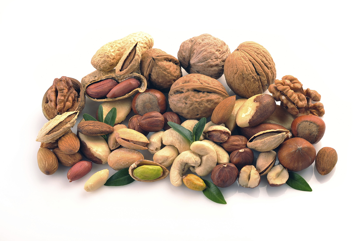 You know that nuts make a great snack. Choosing the right ones may help add years to your life. Here are the five best nuts you can eat.