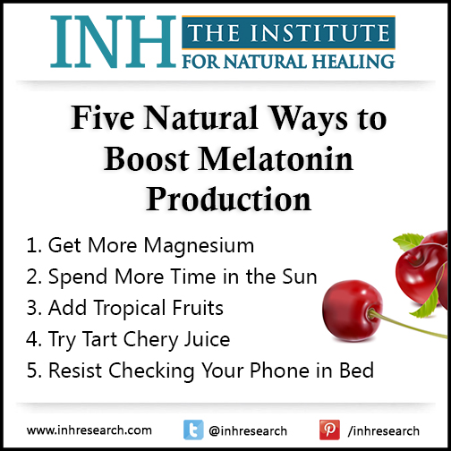 Melatonin isn't just for a good night's sleep… It's a critical hormone for supporting your overall health. Here are five natural ways to boost your melatonin levels.