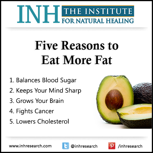 Eating the right fats is one of the easiest steps you can take to reach your best health yet. Here are five critical reasons to eat more healthy fats every day.