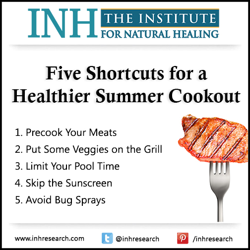Five Shortcuts for a Healthier Summer Cookout