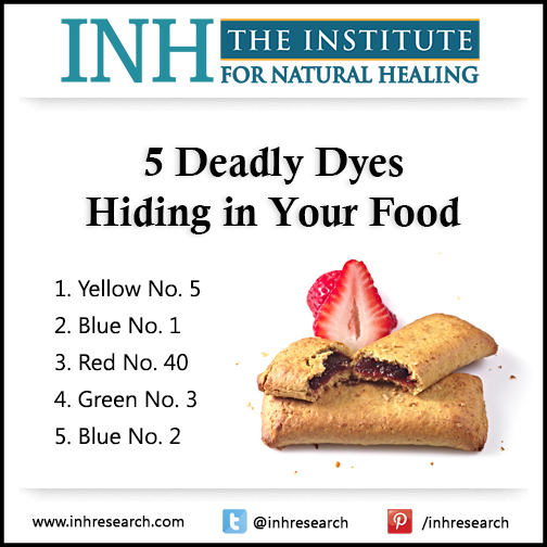 These 5 food dyes are slowly killing you. But that doesn't stop the FDA from allowing them in your food. Find out which ones are the worst…and how to avoid them.
