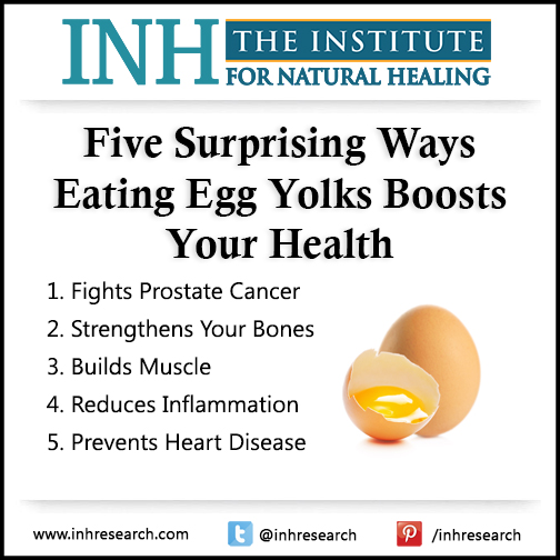 Experts finally admit it's time to stop fearing cholesterol… And start embracing eggs. Here are five surprising ways egg yolks are good for you.