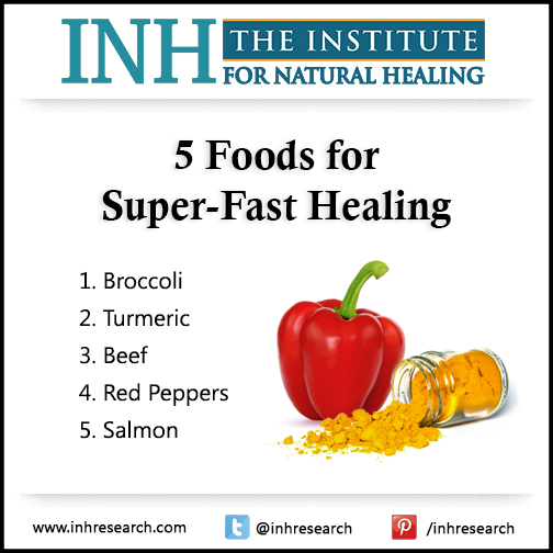 Treating a stubborn cut or scrape with ointments and bandages will only get you so far… Eat these five foods for super-fast healing.