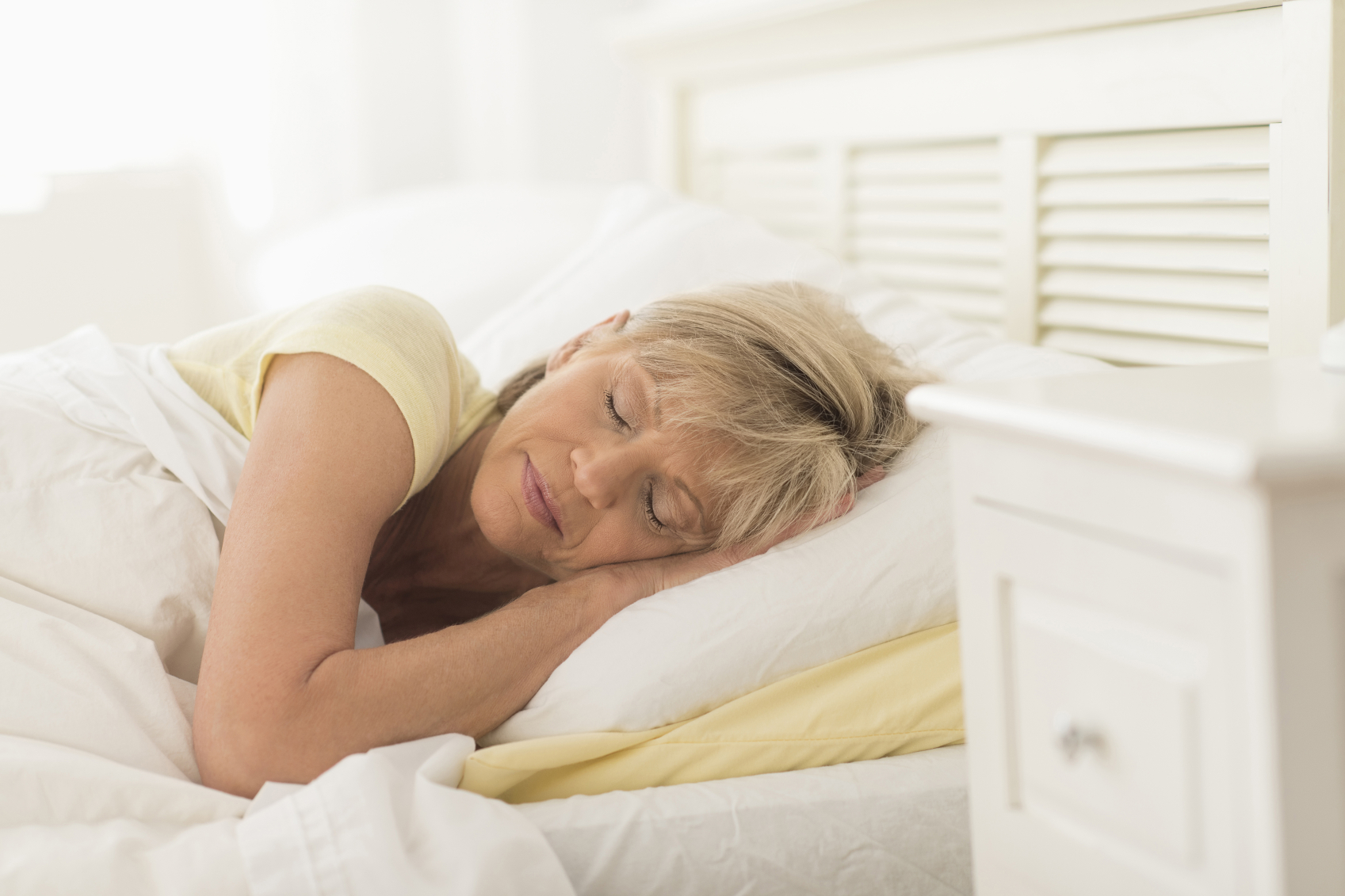 Sleeping in a certain position may protect you from Alzheimer's, a new study finds.