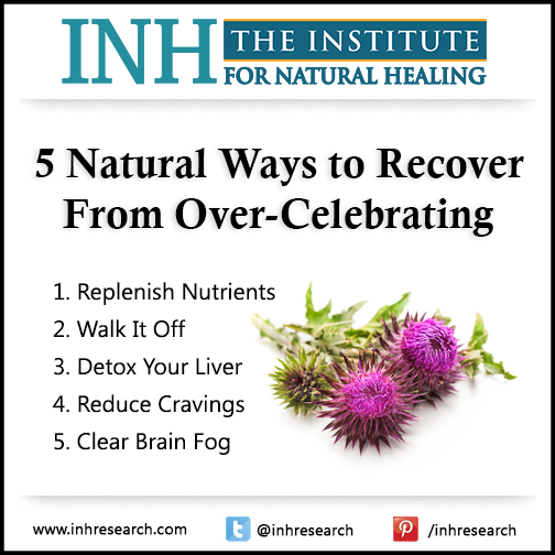 Reset your health after holiday overindulgence with these 5 natural tips.