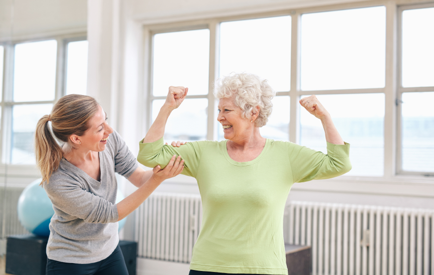 Penn State researchers have found that strength training dramatically lowers death risk for seniors.