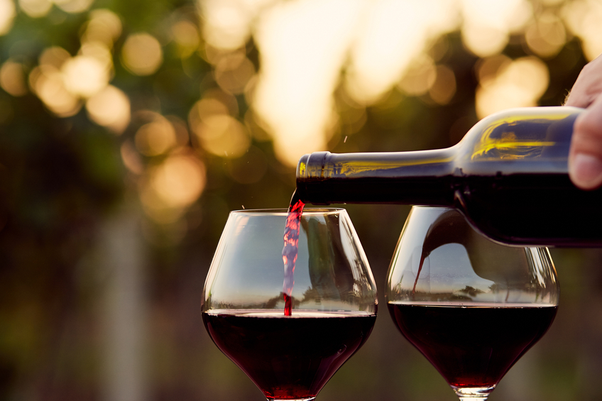 A University of Cambridge study shows that you drink less if you use a smaller glass.