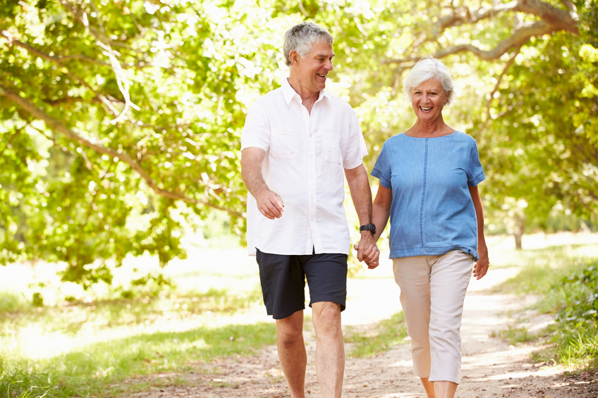 A French study that followed more than 123,000 seniors shows that a 15-minute daily walk lowers death risk by 22%.
