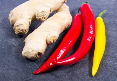 A new study shows that eating lots of hot peppers and ginger may prevent cancer.