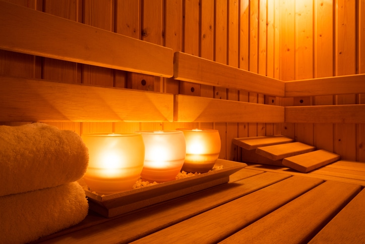 A steam bath does more than relax you. A new study finds it has powerful health benefits.