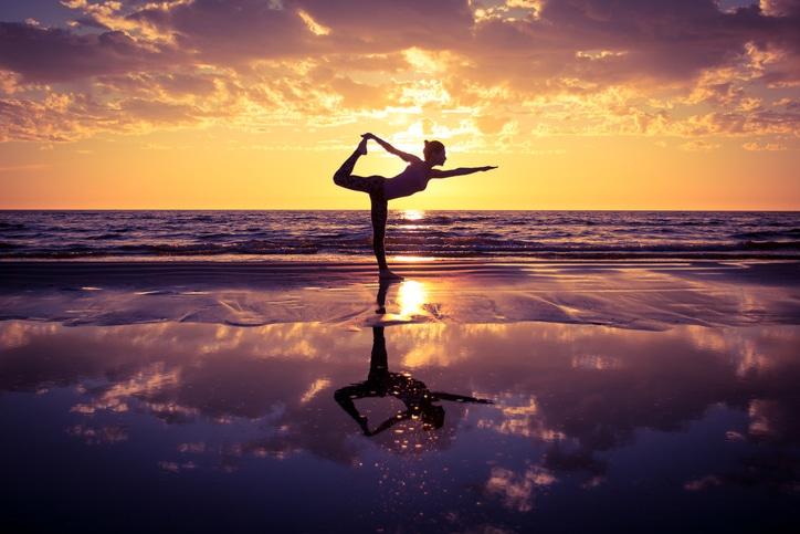 yoga-dancer pose