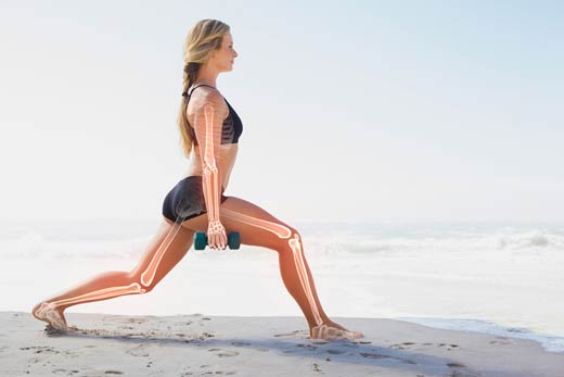 Lunges for Bone Health