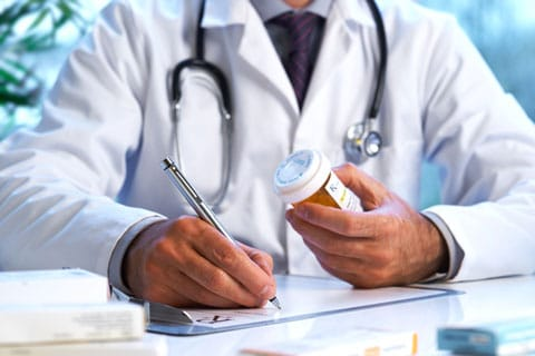 Doctor Writing Script