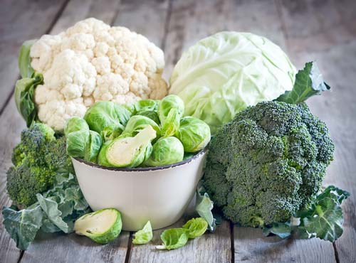 Broccoli and brussels