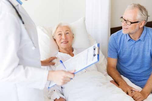 Doctor bedside