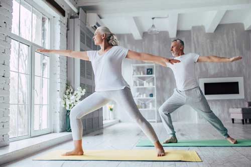 Yoga to lower blood pressure