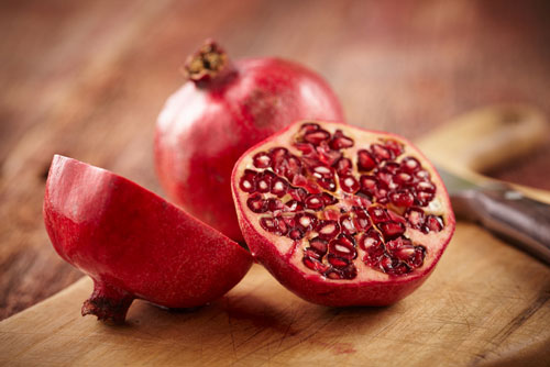 Pomegranate slows aging