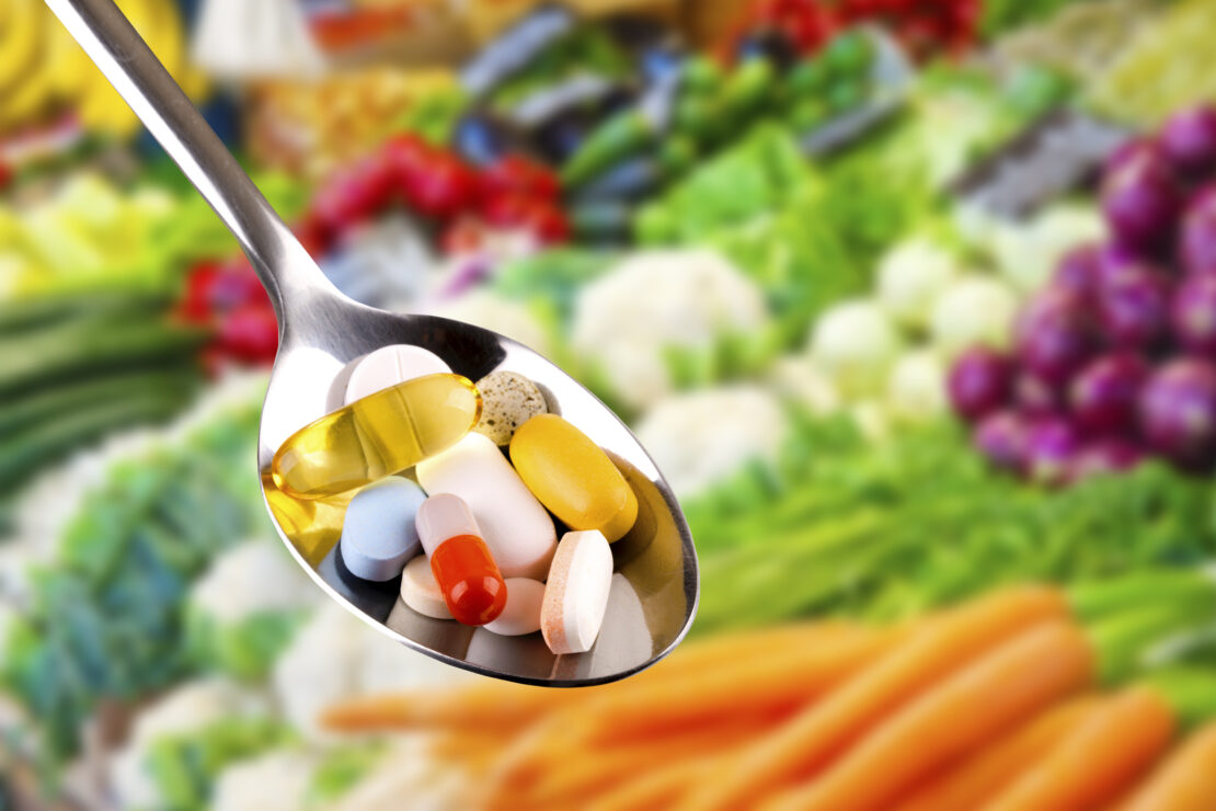 Picture of vitamins.