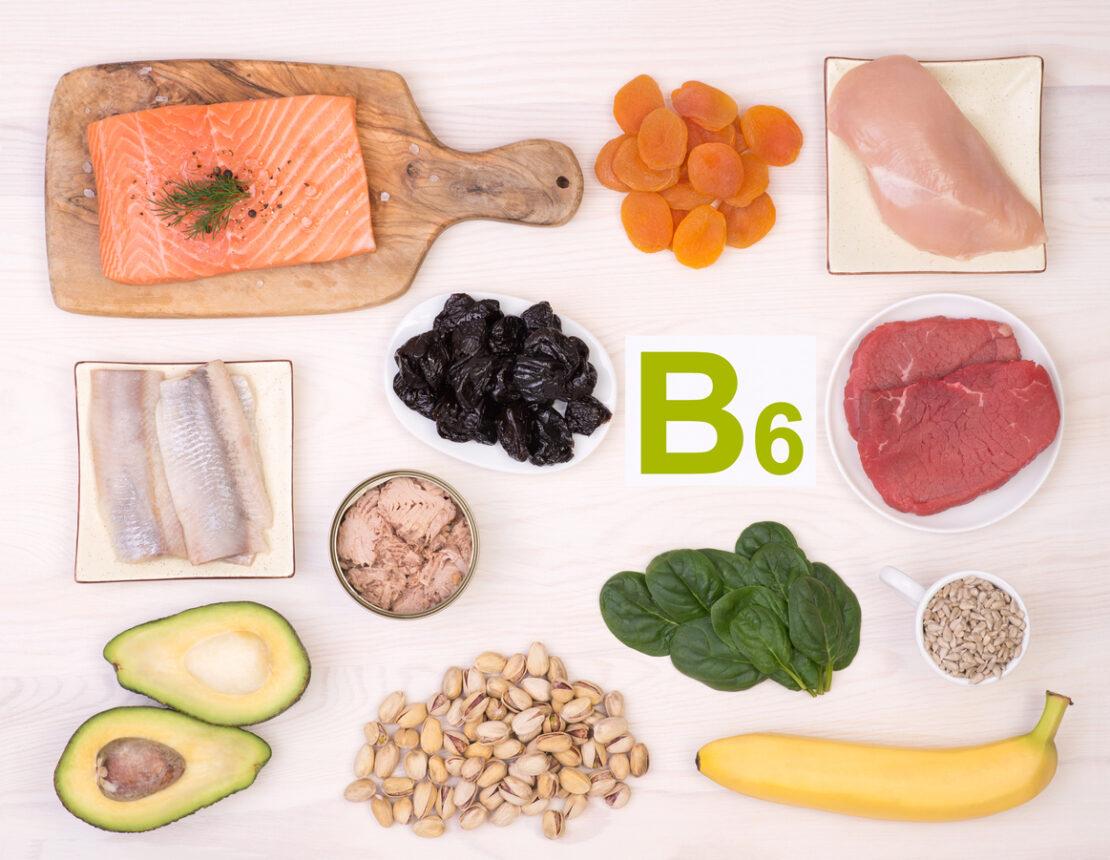 Photo of vitamin B6.