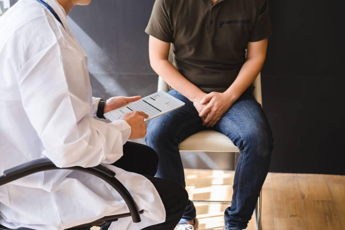 Photo of men's health.