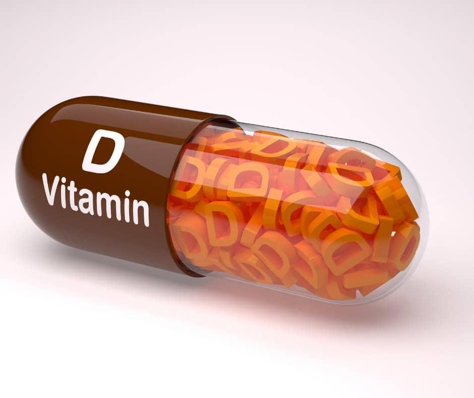 Photo of vitamin D.