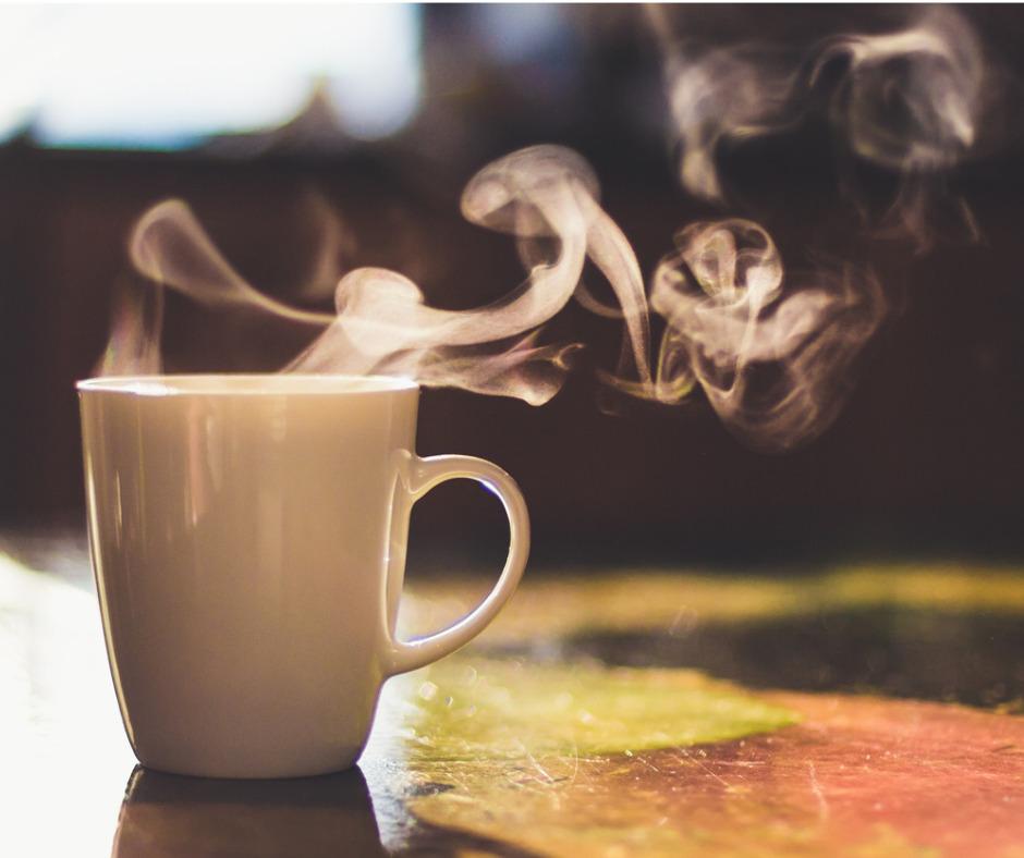 Photo of hot tea.