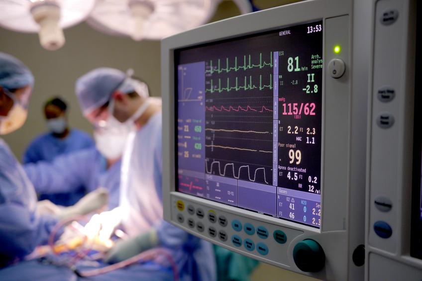 Photo of surgery.
