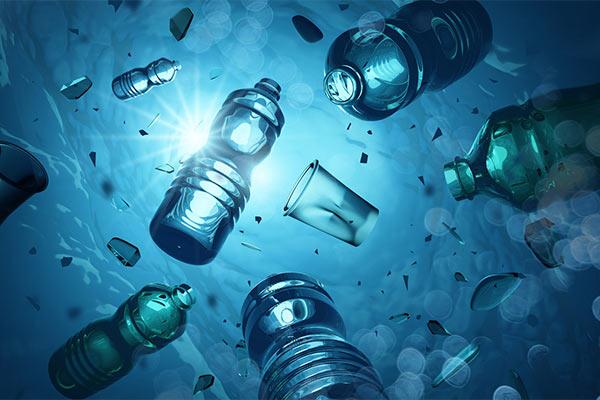Image of plastic bottles.