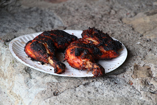 Image of Chicken on plate