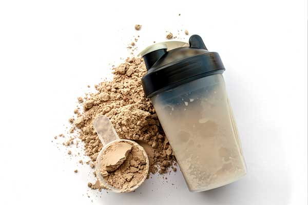 Photo of protein powder mix.