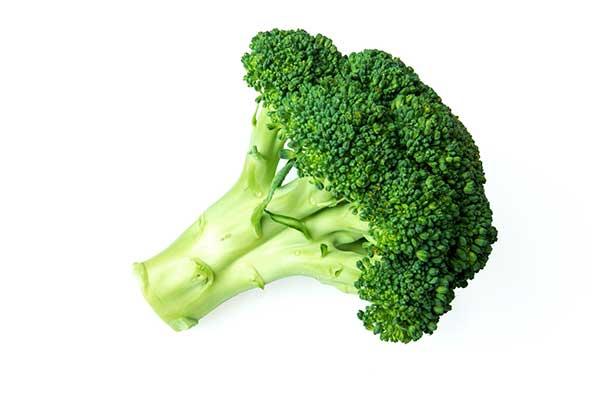 A broccoli floret unclose.